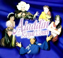 Neptune Theatre production of Aladdin at the Royal Court